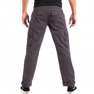Мъжки сив Cargo панталон House 2
