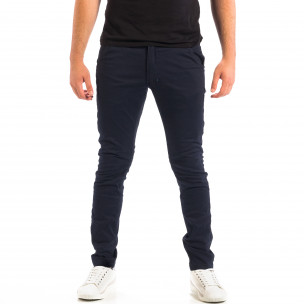 Мъжки тъмносин Chino панталон CROPP