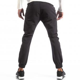 Мъжки сив лек панталон Jogger House  2