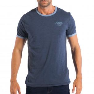Мъжка синя тениска Reserved