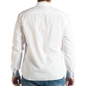 Мъжка бяла риза Slim fit RESERVED  2