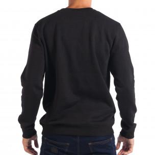 Мъжка черна блуза CROPP с Hip-Hop мотив 2