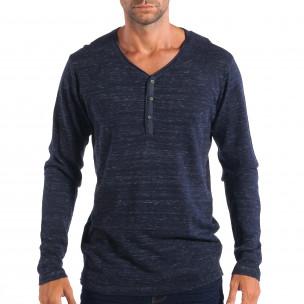 Мъжки лек пуловер House с копчета V-neck