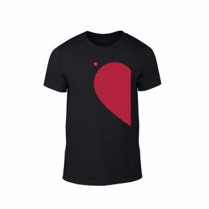 Мъжка тениска Half Heart, размер XL
