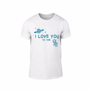 Мъжка тениска To The Moon And Back, размер L