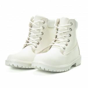 Мъжки боти All white. Размер 42 2