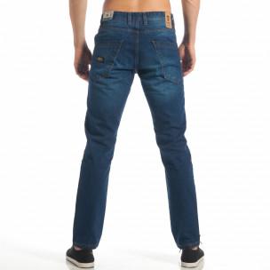 Мъжки сини дънки CROPP Straight fit  2