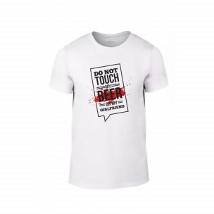 Мъжка тениска Don't touch me!, размер L