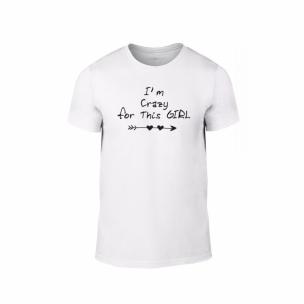 Мъжка тениска Crazy in love, размер S
