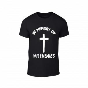 Мъжка тениска In Memory of my Enemies, размер L