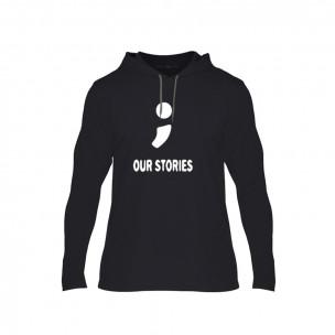 Мъжки суичър Our Stories, размер M