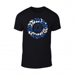 Мъжка черна тениска Omega