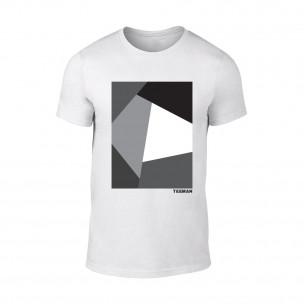 Мъжка бяла тениска Teeman