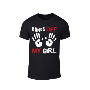 Мъжка тениска Hands Off , размер L