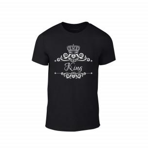 Мъжка тениска Romantic King Queen, размер L