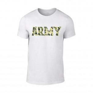 Мъжка бяла тениска Army