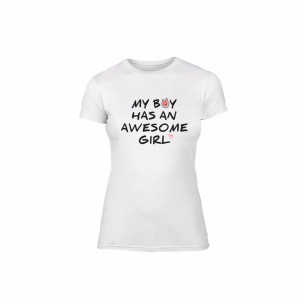 Дамска тениска The Awesome Boy & Girl, размер M