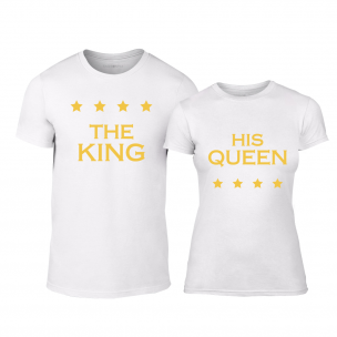 Тениски за двойки Royal Stars бели