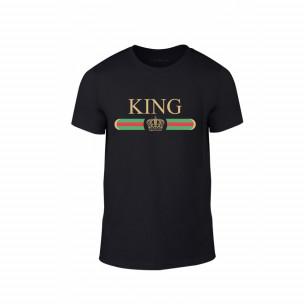 Мъжка тениска Fashion King Queen, размер XL
