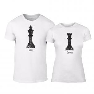 Тениски за двойки Chess бели