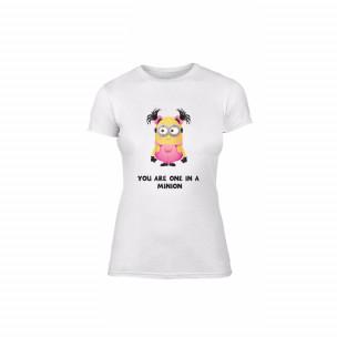 Дамска тениска One in a Minion, размер M
