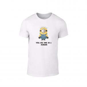 Мъжка тениска One in a minion, размер M