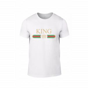 Мъжка тениска Fashion King Queen, размер L