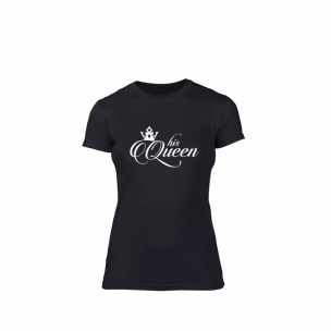 Дамска тениска His queen, размер S