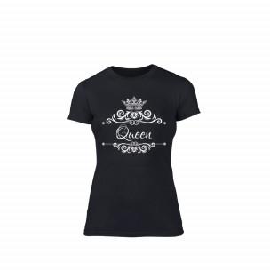 Дамска тениска Romantic King Queen, размер S