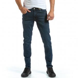 Basic Long Slim мъжки сини дънки