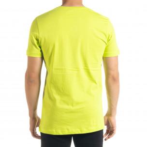 Неонова мъжка тениска Things  2
