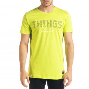 Неонова мъжка тениска Things