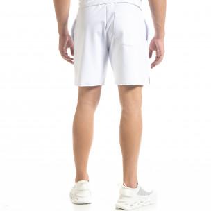 Мъжки бели тренинг шорти HARD  2