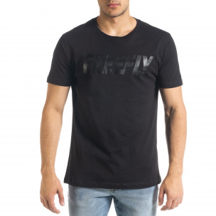 Basic мъжка тениска Freefly в черно