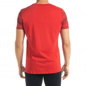 Мъжка червена тениска Thank You 2