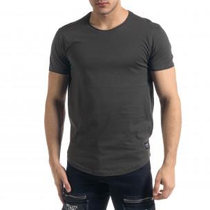 Basic мъжка тениска в милитъри зелено