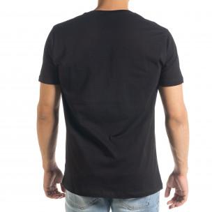 Basic мъжка тениска Freefly в черно  2