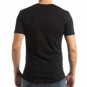Мъжка тениска в черно To-Go  2