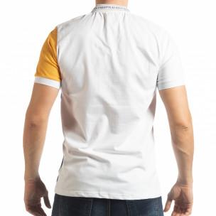 Мъжка тениска с яка WBY Marine style  2