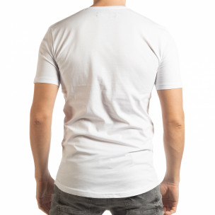 Мъжка тениска в бяло To-Go 2