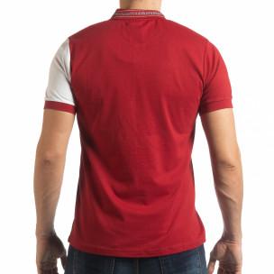 Мъжка тениска с яка RBW Marine style  2