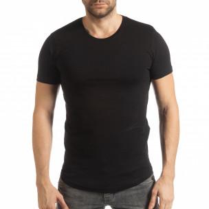 Basic мъжка тениска в черно