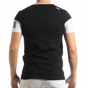 Черна мъжка тениска Money  2