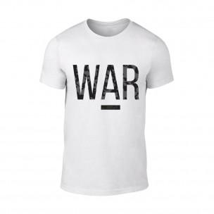 Мъжка бяла тениска War