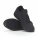 Мъжки черни леки маратонки All-black it240418-31 4
