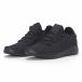 Мъжки черни леки маратонки All-black. Размер 42/43 it240418-31-1 3