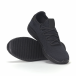 Мъжки черни леки маратонки All-black. Размер 42/43 it240418-31-1 4