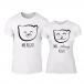 Тениски за двойки Bears бели TMN-CP-238 2
