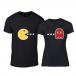 Тениски за двойки PacMan черни TMN-CP-234 2