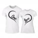 Тениски за двойки One Love бели TMN-CP-242 2